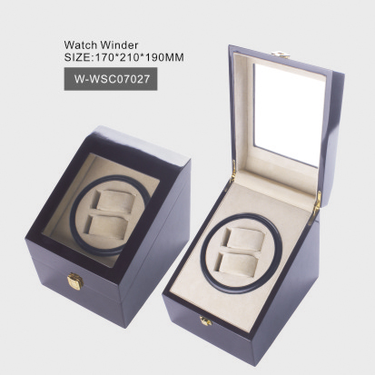 Glossy Wooden Watch Winder
