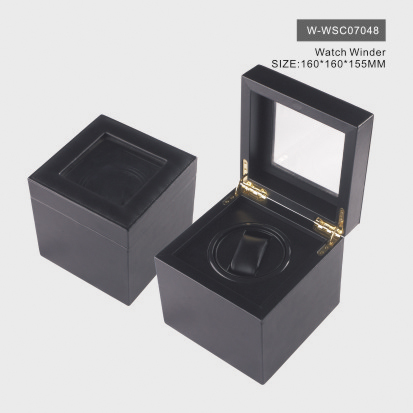 Graceful Black Watch Box